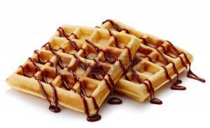 Waffle batter com o Thermomix