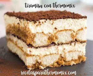 Tiramisu com Thermomix