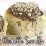 Rolinhos Nutella com Thermomix