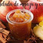 Compota de maçã e canela em Thermomix