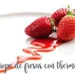 Como preparar o xarope de morango com o Thermomix