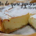 Bolo de queijo japonês com thermomix