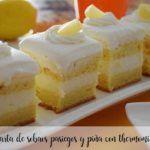 Sobaos pasiegos e torta de abacaxi com thermomix