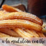 Churros a la madrileña com thermomix