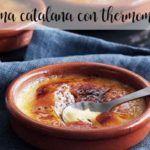 Creme catalão com thermomix