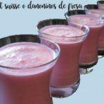 Petit suisse ou danoninos de morango com thermomix