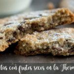 Cookies com nozes no Thermomix