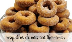 Anis donuts com thermomix