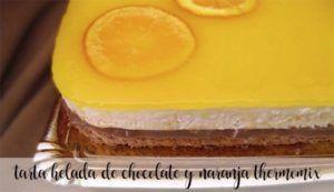 Bolo gelado de chocolate e laranja com Thermomix