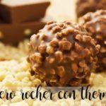 Ferrero Rocher com thermomix