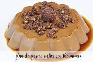 Ferrero Rocher Flan com thermomix