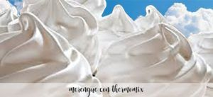 Merengue com Thermomix