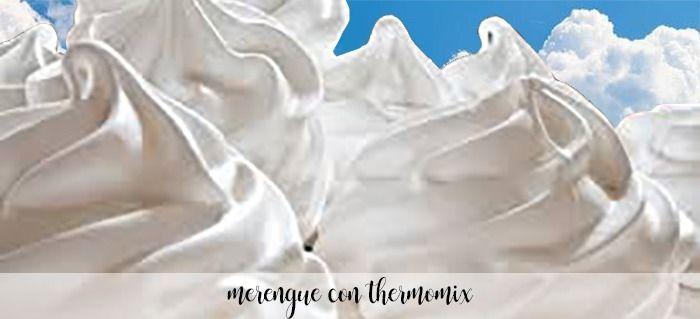 Merengue com Thermomix