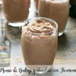 Mousse de Baileys e chocolate com Thermomix