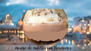 Mousse de Nutella com Thermomix