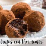 Trufas de Chocolate com Thermomix