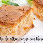 Pão de ló de damasco com Thermomix