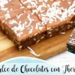 Doces de chocolate com thermomix