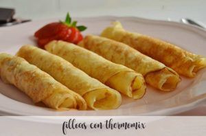 Filloas com Thermomix