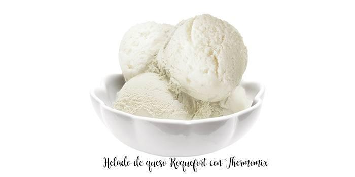 Gelado de queijo Roquefort com Thermomix