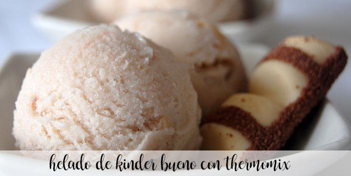 Kinder Bueno sorvete com thermomix