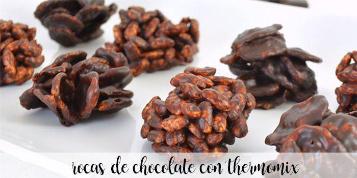 Rochas de Chocolate com Thermomix