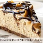 Cheesecake de chocolate e caramelo com Thermomix