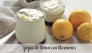 Iogurte de limão com thermomix