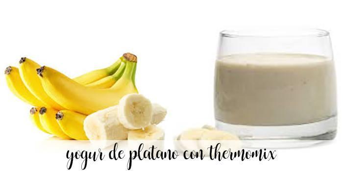 Iogurte de banana com thermomix