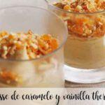 Mousse de caramelo e baunilha com Thermomix