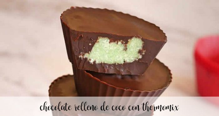 Chocolate com coco e Thermomix