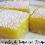 Quadrados de limão com Thermomix