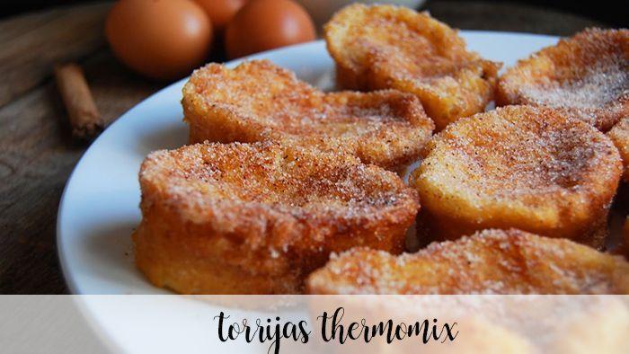 Receita de Torrijas no Thermomix