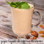 Iogurte líquido de café com Thermomix