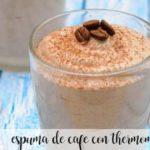 Espuma de café com thermomix