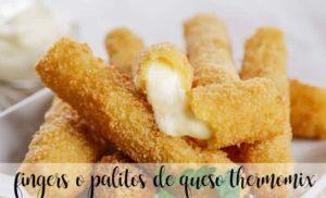 Dedos ou palitos de queijo com thermomix