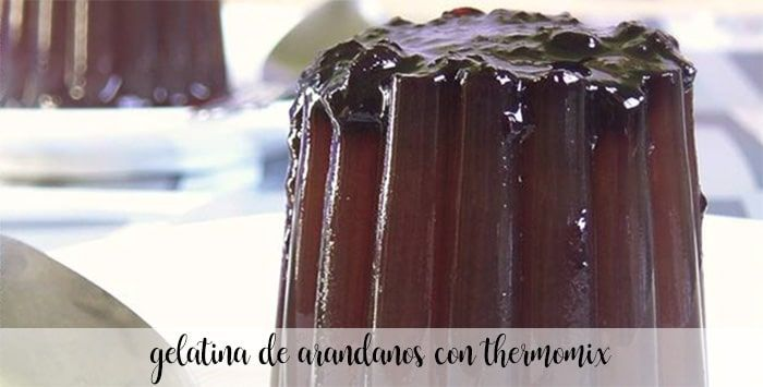 Geléia de Mirtilo com Thermomix