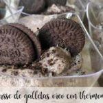 Mousse de biscoito Oreo com Thermomix