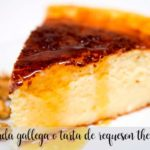 Quesada gallega ou torta de queijo cottage com thermomix