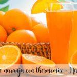 Suco de laranja com thermomix - Laranja
