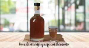 Licor de laranja e café com thermomix