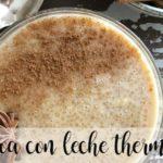 Quinoa com leite com thermomix