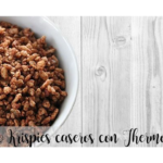Choco Krispies caseiros com Thermomix