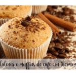 Muffins de café com termomix
