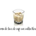Licor de café com vodka e Thermomix