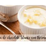 Creme de chocolate branco com termomix