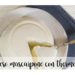 Queijo Mascarpone com termomix