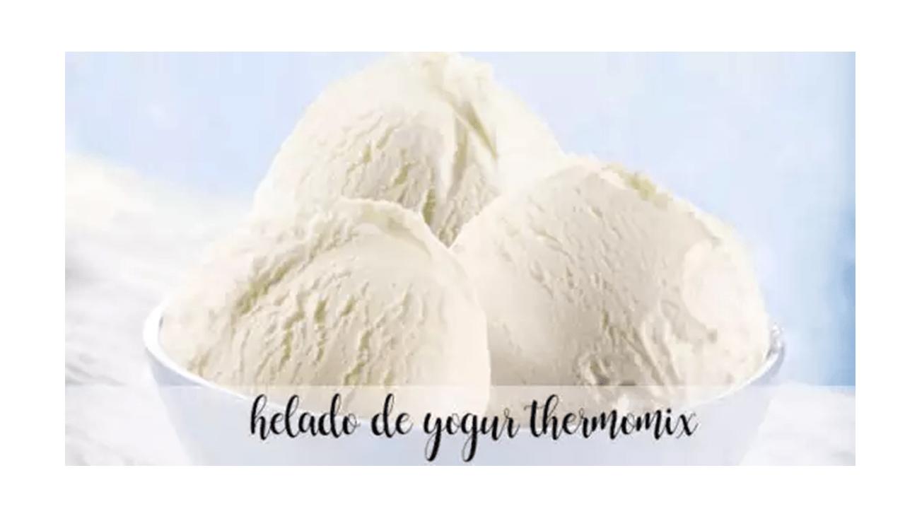 Receita de sorvete de iogurte com Thermomix