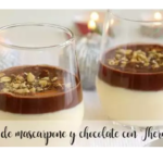 Chávenas de Mascarpone e chocolate com Thermomix