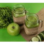 Suco verde de desintoxicação com o Thermomix